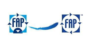 dal vecchio al nuovo logo fap